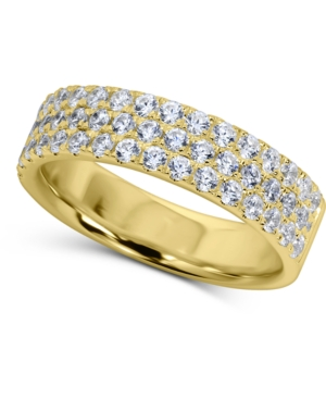 Cubic Zirconia Pave Band