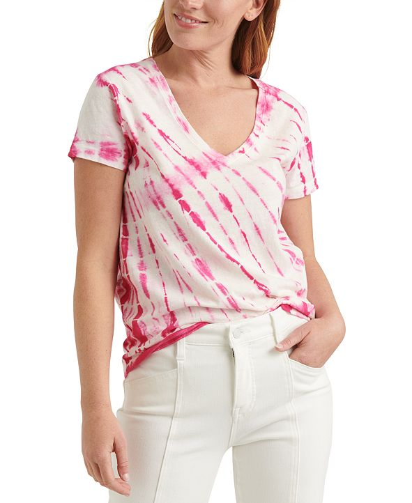 Lucky Brand Essential Tie-Dyed T-Shirt