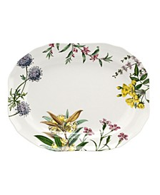 Stafford Blooms 14 Inch Oval Platter