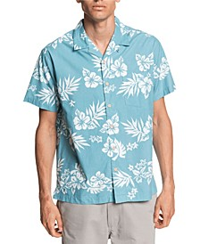 Quiksilver Men's Floral Feelings Shirt