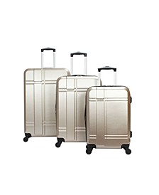 Conway 3 Piece Hardside Spinner Luggage Set