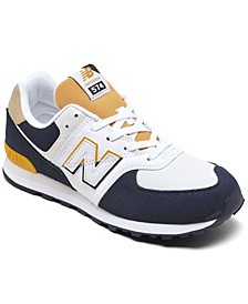 Big Boys 574 Split Sail Casual Sneakers from Finish Line