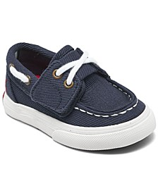 Toddler Boys Bridgeport EZ Slip-On Casual Boat Sneakers from Finish Line