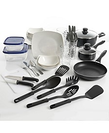 All You Need 45-PC combination Dinnerware & Cookware Set