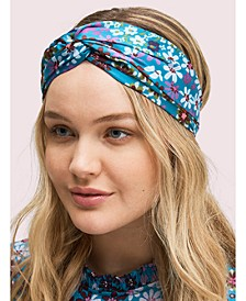 Pacific Petals Silk Headband