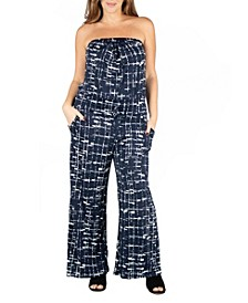 Women's Plus Size Jumpsuit