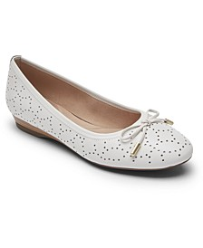 Women's Total Motion Shea Perforated Bow Flats