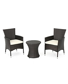 Polina Outdoor 3 Piece Chat Set