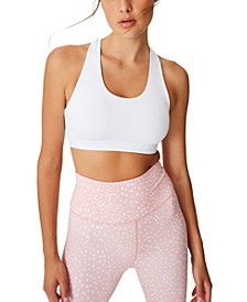 Workout Cut Out Crop Bra