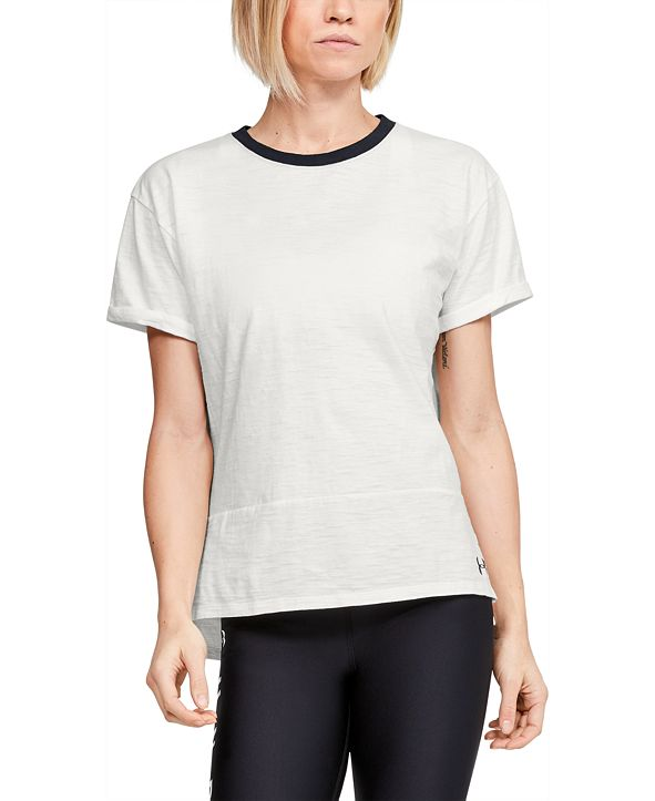 Under Armour Women's Charged Cotton® Ringer T-Shirt