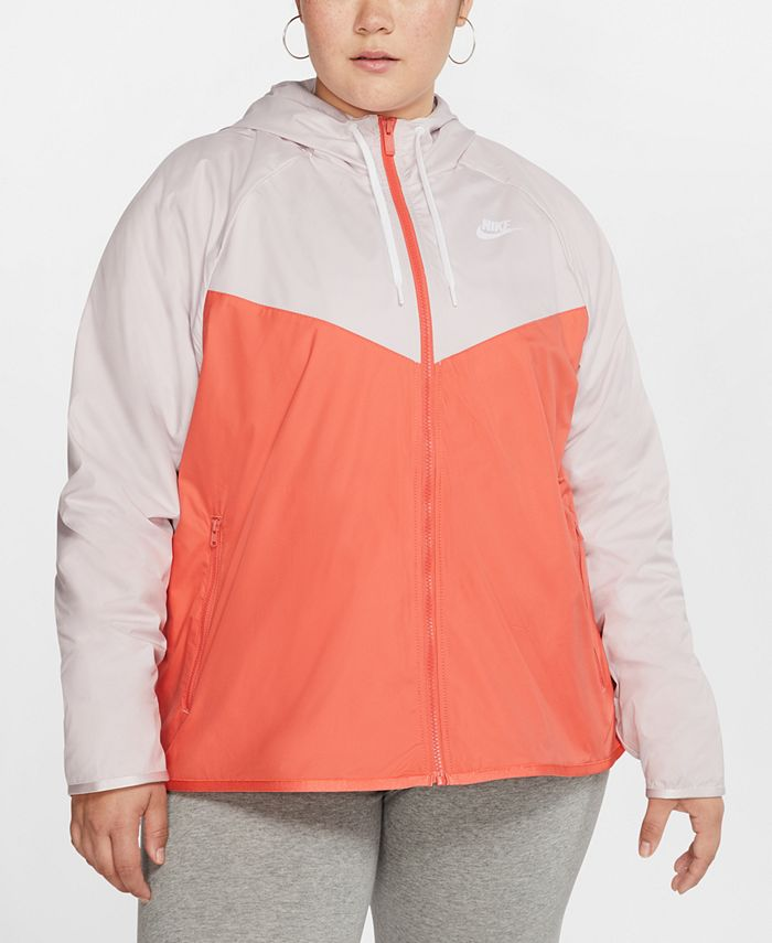 Nike - Plus Size Windrunner Hooded Jacket