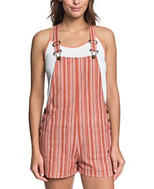 Women's Real Life Love Dungaree Overalls