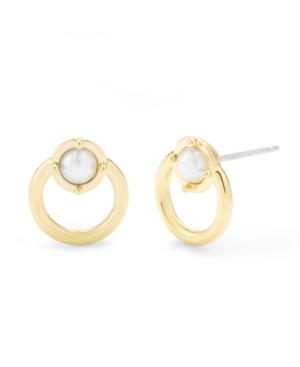 Mia Imitation Pearl Earrings