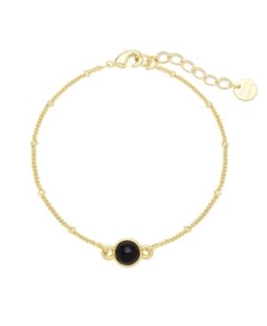 Nola Gemstone Bracelet -Onyx