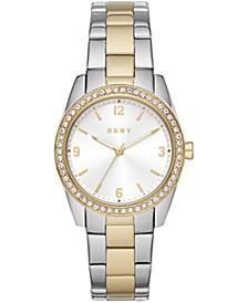 Women's Nolita Two-Tone Stainless Steel Bracelet Watch 34mm