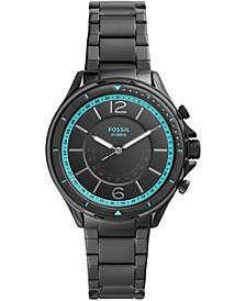 Women's Tech Sadie Black Stainless Steel Bracelet Hybrid Smart Watch 38mm