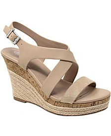 Layne Platform Wedge Sandals