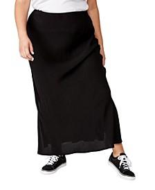 Curve 90s Slip Skirt