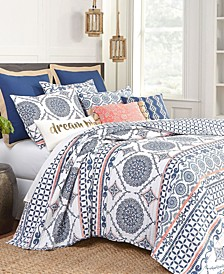 Cape Road Reversible Full/Queen Quilt Set