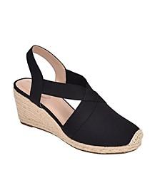 Nila Closed-Toe Espadrille Sandal