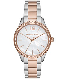 Layton Three-Hand Two-Tone Stainless Steel Watch