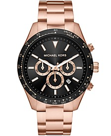 Layton Chronograph Rose Gold-Tone Stainless Steel Watch