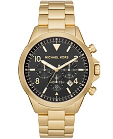 Gage Chronograph Gold-Tone Stainless Steel Watch
