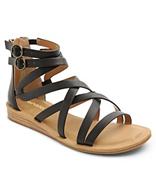 Women's Lanica Woven Ankle Sandal