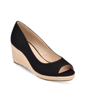 Women's Nuri Peep-Toe Espadrille Wedge Sandals Women's Shoes