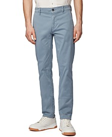 BOSS Men's Schino Slim Open Blue Pants