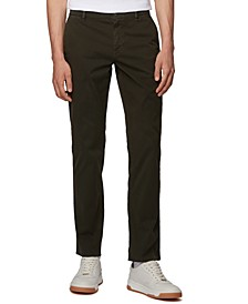 BOSS Men's Schino Regular Open Green Pants
