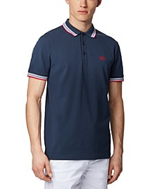 BOSS Men's Paddy Dark Blue Polo Shirt