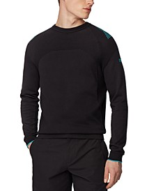 BOSS Men's Rowin Black Sweater