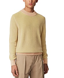 BOSS Men's Imarco Light Beige Sweater