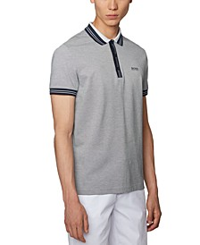 BOSS Men's Paddy 2 Dark Blue Polo Shirt
