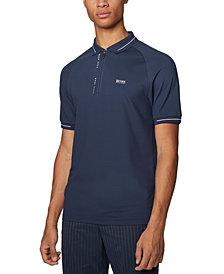 BOSS Men's Philix Dark Blue Polo Shirt