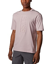 BOSS Men's Tee 9 Light Pink T-Shirt