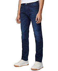BOSS Men's Maine Navy Jeans