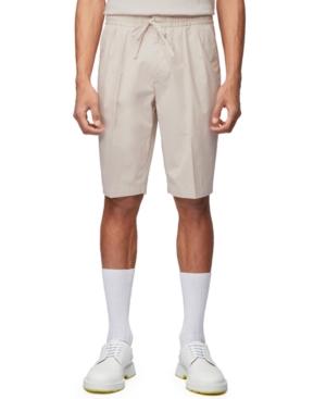 Boss Men's Kirio Natural Pleat Shorts