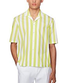 BOSS Men's Lello Yellow Shirt