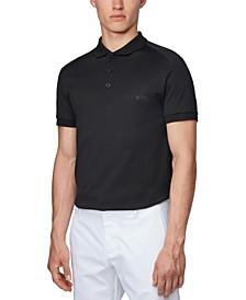 BOSS Men's Paule 7 Black Polo Shirt