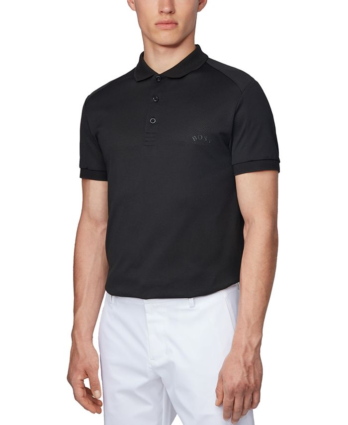 Hugo Boss - Men's Paule 7 Black Polo Shirt
