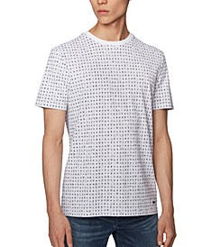BOSS Men's Tepol White T-Shirt