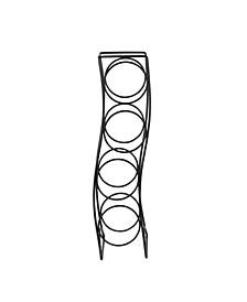 Curve 4-Bottle Wine Rack