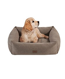 Charlie Small Memory Foam Pet Bed with Removable Cover