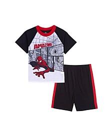 Little Boys 2 Piece Pajama Set