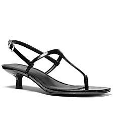 Michael Michael Kors Tasha T-Strap Sandals