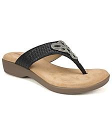 Backe Thong Sandals
