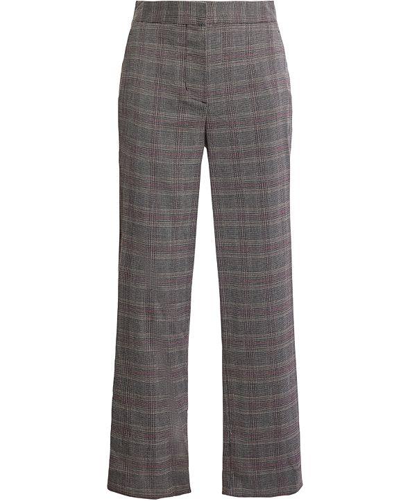 BCBGMAXAZRIA Plaid Trousers