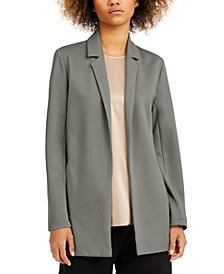 Notch-Lapel Jacket, Regular & Petite Sizes